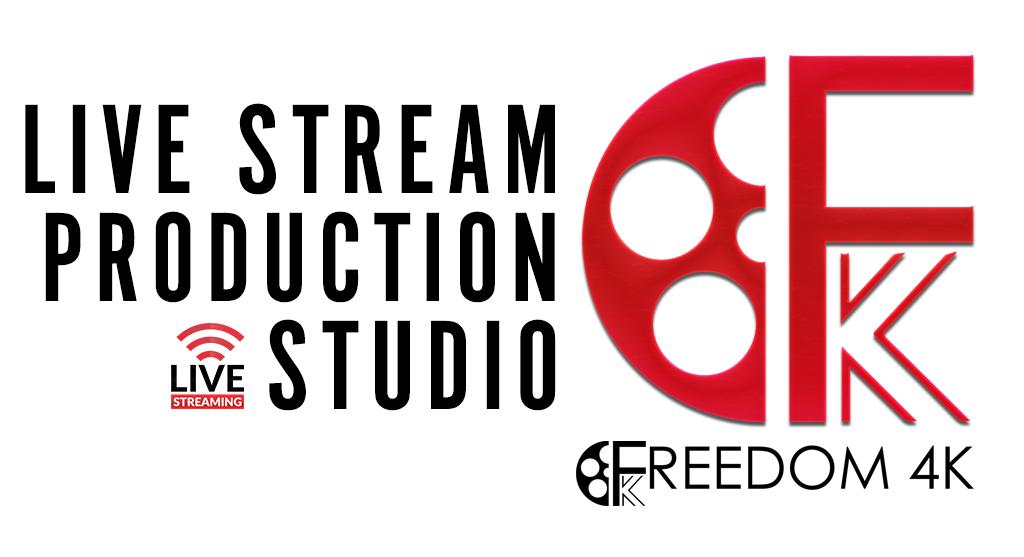 dallas / fort worth live stream production crew - freedom4k & Art Via Light