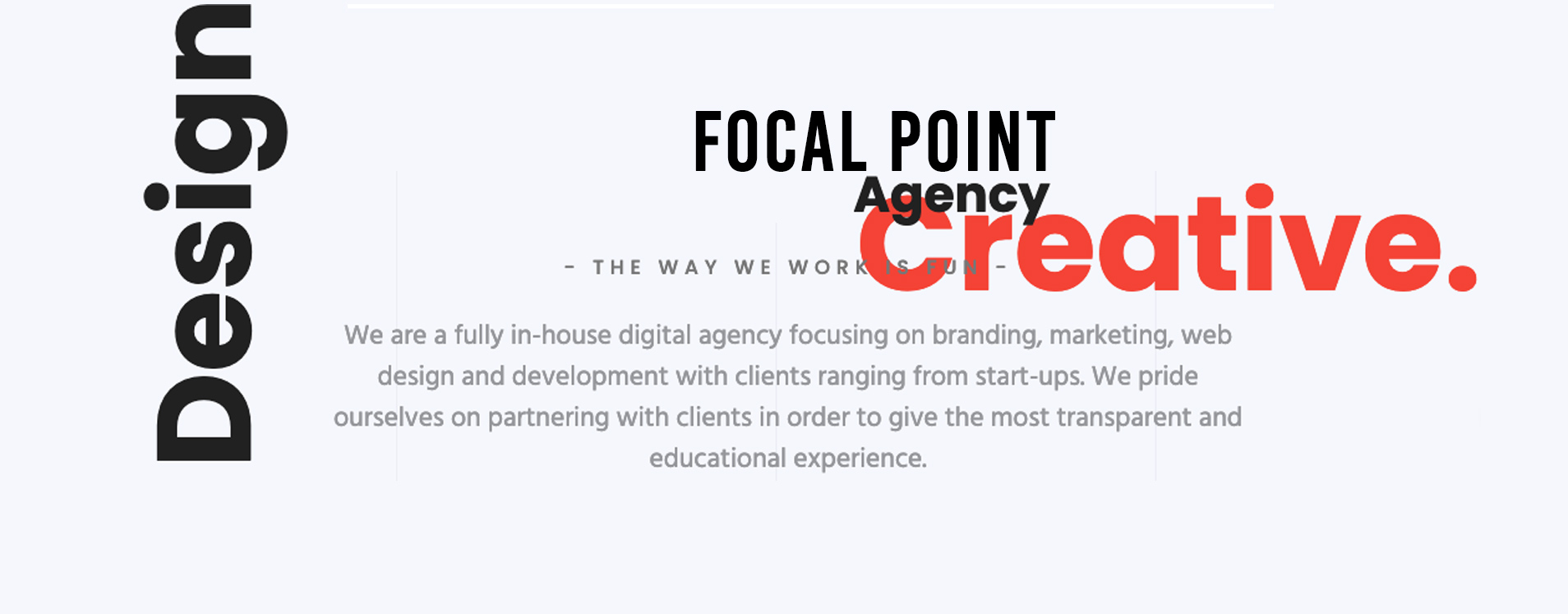 Creative Design with Focal Point Agency